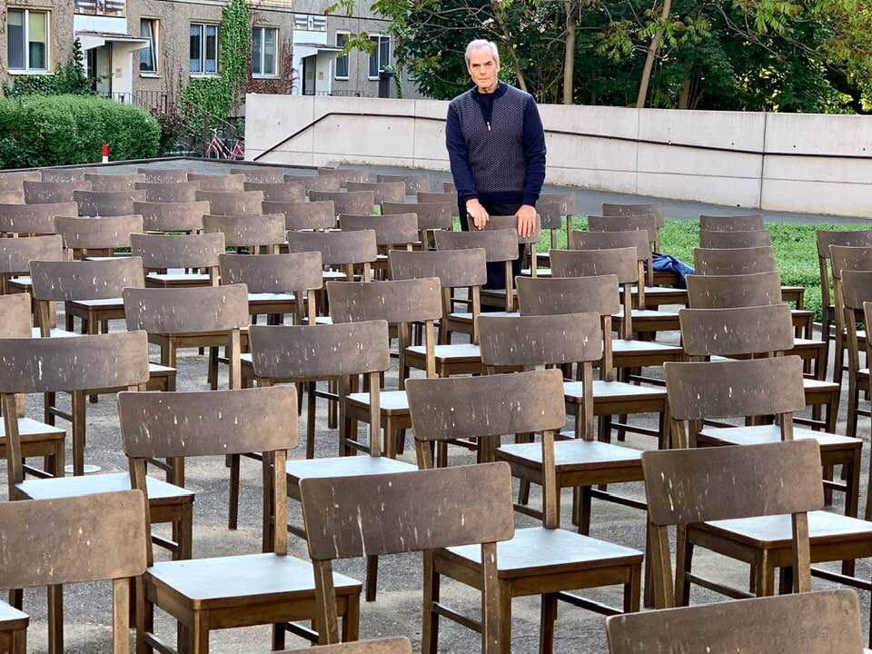 The Empy Chairs, Leipzig, Holocaust